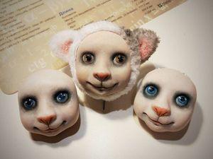 НОВИНКА!!! Набор Авторской игрушки Тедди-Долл от Мастера Marusy Klimova  -