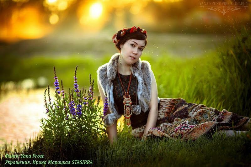 этнические украшения, бохо стиль