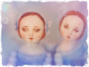 Танцовщицы в голубом. Ярмарка Мастеров - ручная работа, handmade.