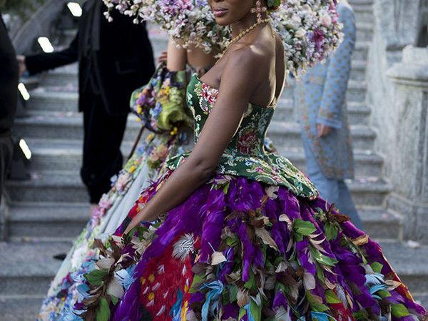 Jewelry at the Alta Moda Fashion Show by Dolce & Gabbana | Livemaster - handmade