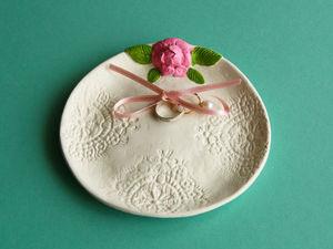 Лепим тарелочку для колец за 20 минут. Ярмарка Мастеров - ручная работа, handmade.