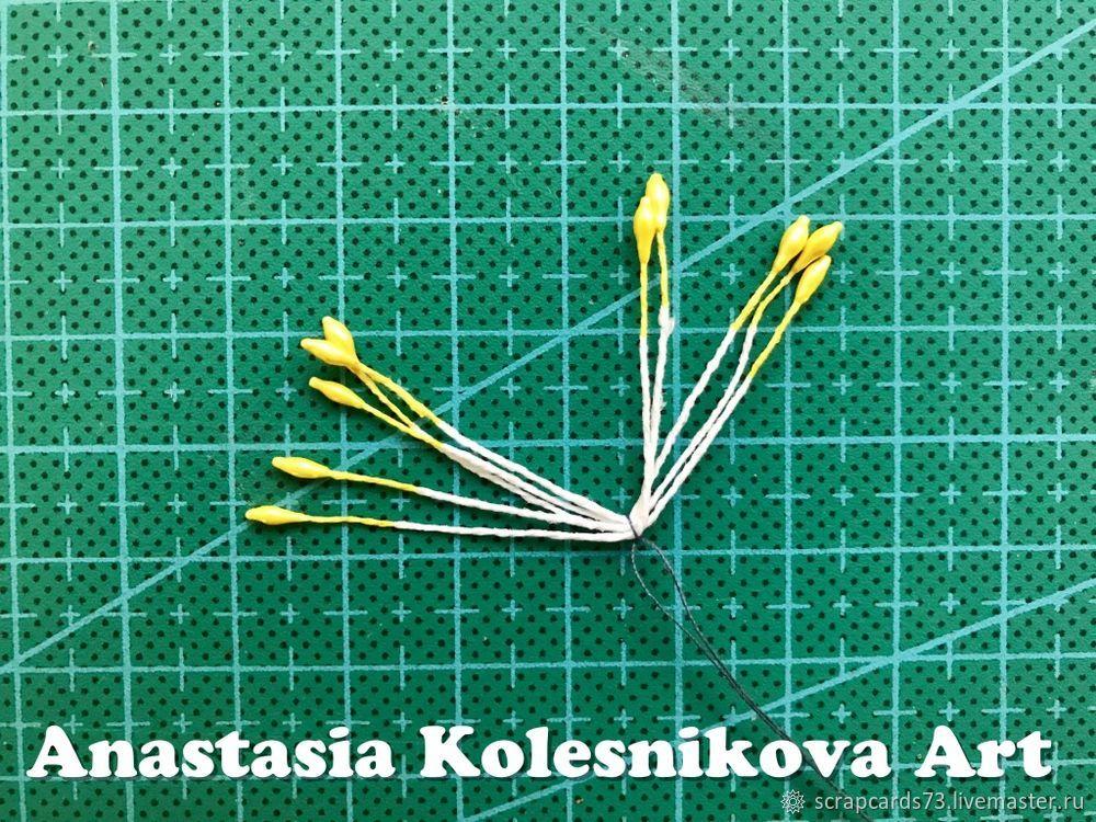 Создаем цветок пуансеттии из фоамирана