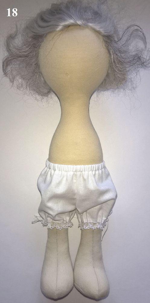 Юбка из фатина для куклы большеножки мк