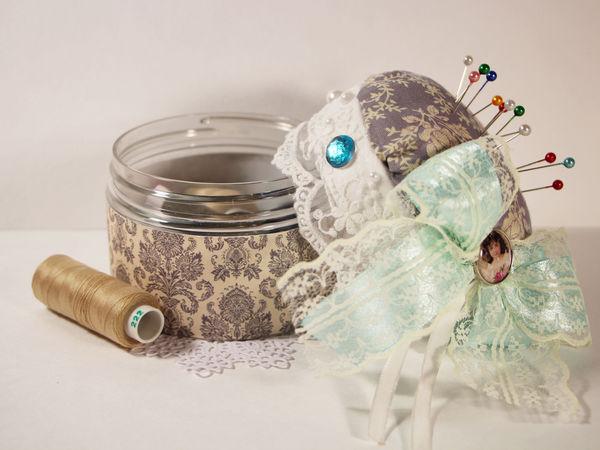 Делаем шкатулку-игольницу своими руками | Ярмарка Мастеров - ручная работа, handmade