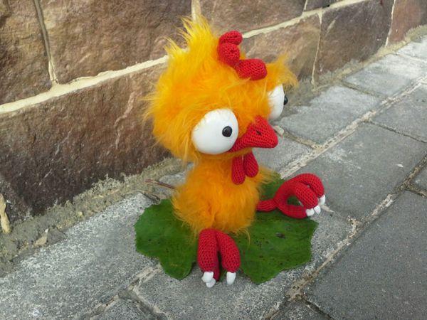 Петушонок Прошка (вязание крючком, вязаный петух, игрушка-петух)   Ярмарка Мастеров - ручная работа, handmade