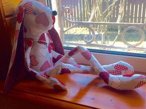 Новая работа Заяц Сердцеед. Ярмарка Мастеров - ручная работа, handmade.