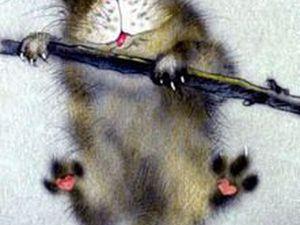 Срочно нужна схема вязания крючком свитера для кота!!!   Ярмарка Мастеров - ручная работа, handmade