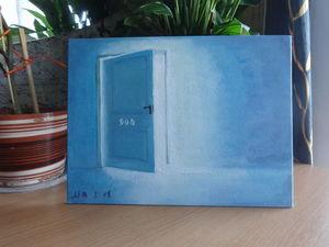 "Мини-серия «Двери» (series of paintings ""doors""). Ярмарка Мастеров - ручная работа, handmade."
