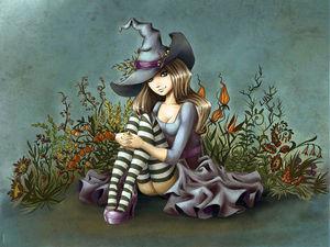 Добрые ведьмочки от Юлии Селиной. Ярмарка Мастеров - ручная работа, handmade.
