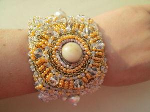 """Аукцион на серебренный браслет с нуля """"Солнечные деньки!"""". Ярмарка Мастеров - ручная работа, handmade."""