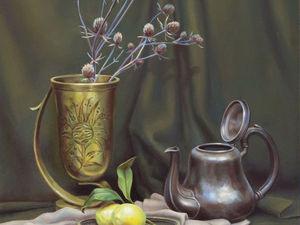 Этапы создания фламандского натюрморта: мастер-класс по живописи. Ярмарка Мастеров - ручная работа, handmade.