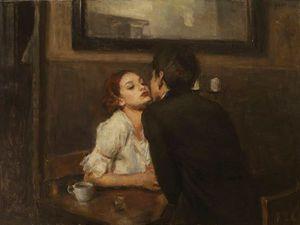 Поцелуи в полотнах художника Ron Hicks. Ярмарка Мастеров - ручная работа, handmade.