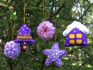 Новогодние игрушки в наборах. Ярмарка Мастеров - ручная работа, handmade.