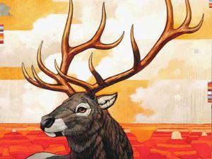 Дикий Запад, вороны и индейские мотивы: 45 вдохновляющих картин Craig Kosak. Ярмарка Мастеров - ручная работа, handmade.
