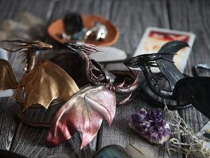 Прекрасные драконы в наличии в мастерской | Ярмарка Мастеров - ручная работа, handmade