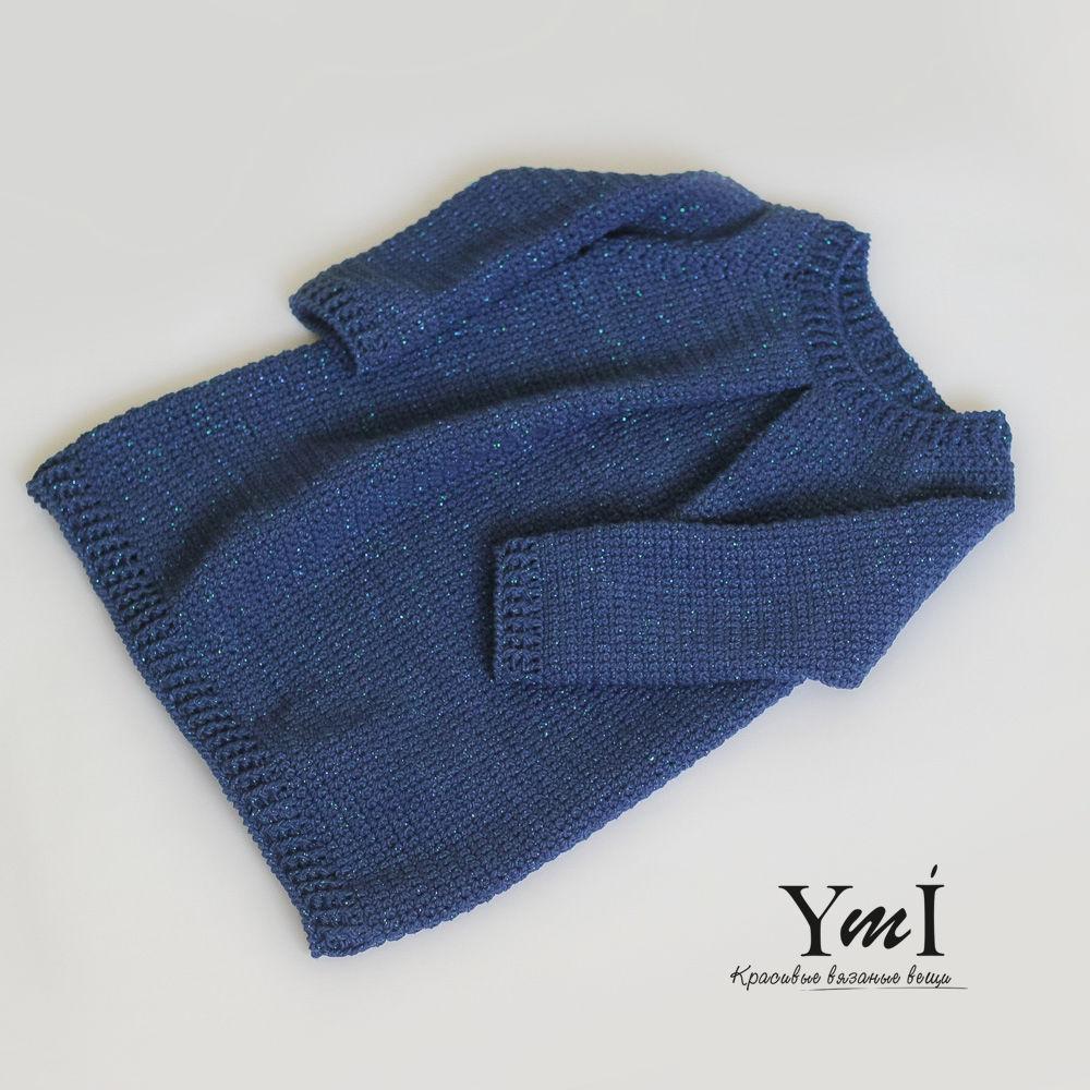 платье-свитер, свитер крючком