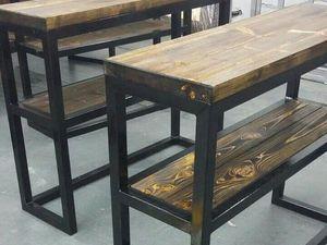Производим мебель для барбершопа. Барбершоп в стиле лофт. | Ярмарка Мастеров - ручная работа, handmade