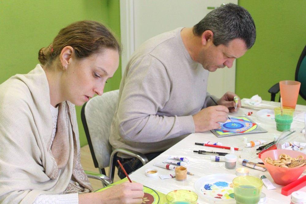 графика, арт-студия, арт-студия в москве, обучение в москве, обучение рисованию, море, мандала
