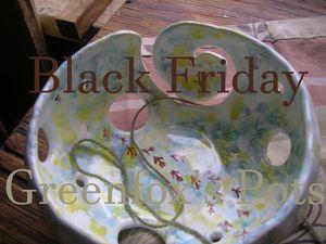 Черная Пятница с Greenfox's Pots. Ярмарка Мастеров - ручная работа, handmade.
