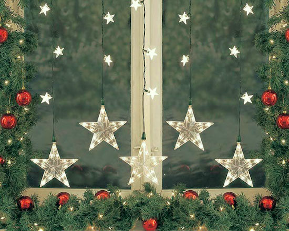 How to Decorate Windows for New Year: 20 Great Ideas, фото № 15