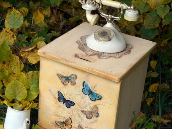 Ящик для Людмилы- вещь с историей! С историей Людмилы! | Ярмарка Мастеров - ручная работа, handmade