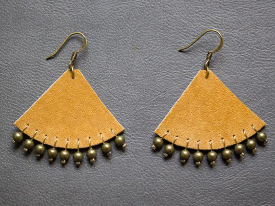 30 Simple Ideas for Design of Handmade Leather Jewelry, фото № 16