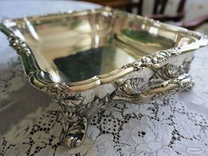 Антикварное английское блюдо с подогревом. Шеффилд 1844 г.. Ярмарка Мастеров - ручная работа, handmade.