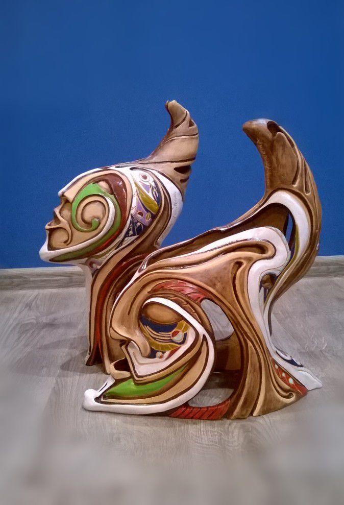 керамика, интерьерное украшение, декоративная скульптура