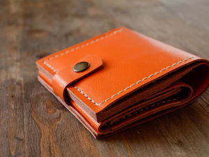 How to Make a Wallet out of Genuine Leather. Livemaster - handmade