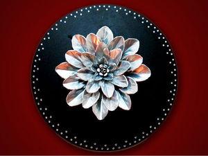 Видео мастер-класс: необычное панно из алюминиевых банок. Ярмарка Мастеров - ручная работа, handmade.