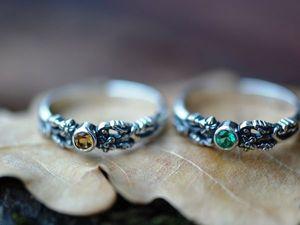 Скидка 15% на кольца Нежность из наличия 15.11.18. Ярмарка Мастеров - ручная работа, handmade.
