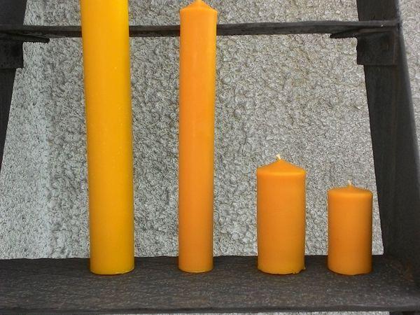 У нас новые восковые свечи | Ярмарка Мастеров - ручная работа, handmade