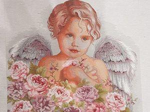 Анонс: Супер-милые ангелочки в цветах!. Ярмарка Мастеров - ручная работа, handmade.