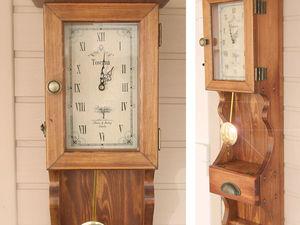 Аукцион с нуля на часы с маятником