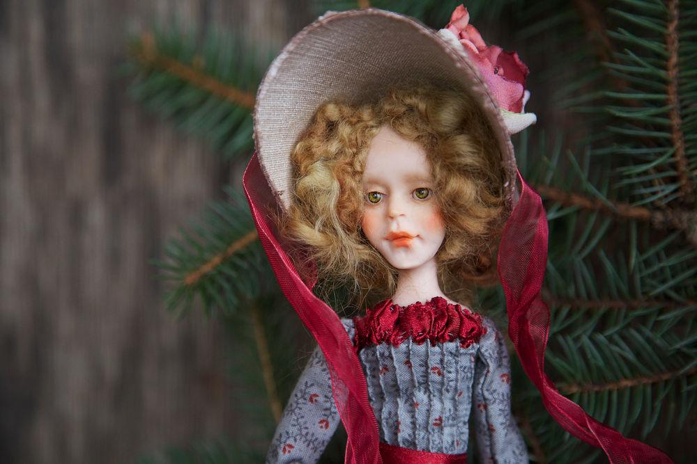 Дополнительные фотографии куклы ручной работы Софии., фото № 5