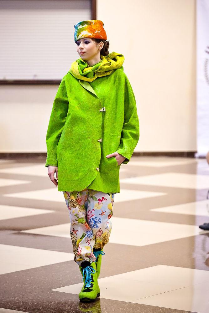 felt fashion show