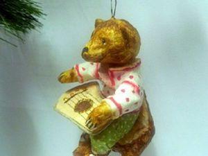 Мишка с гуслями. Ярмарка Мастеров - ручная работа, handmade.
