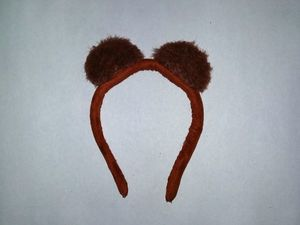 Делаем ободок с ушками медведя. Ярмарка Мастеров - ручная работа, handmade.