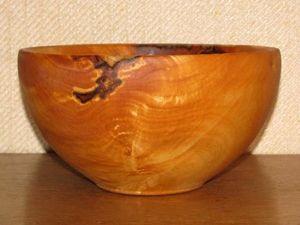 Чаша точеная из липового сувеля. Ярмарка Мастеров - ручная работа, handmade.