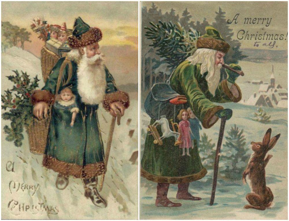 Надписями, открытки новым годом прошлого века