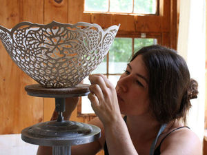 Ceramic Lace by Isabelle Abramson. Livemaster - handmade
