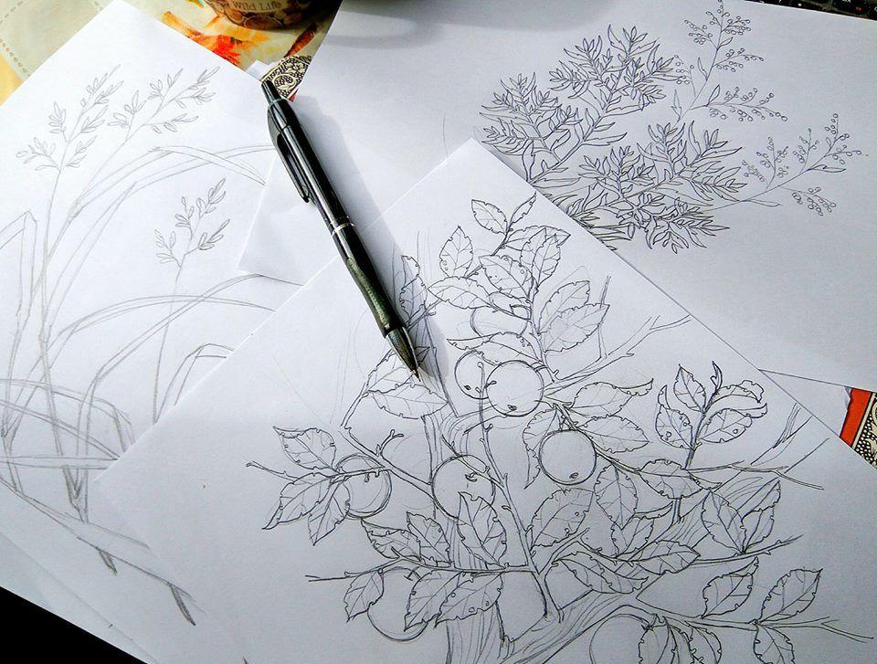 мастер-класс, уроки рисования