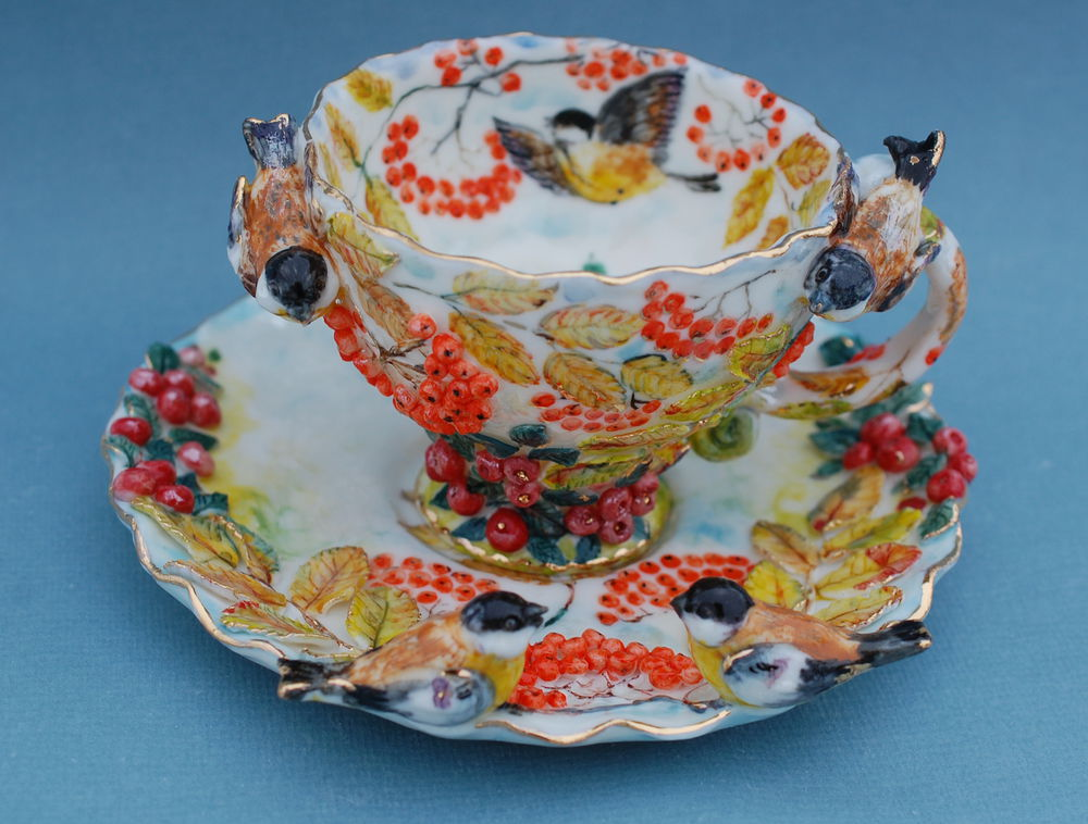 фарфор, необычная посуда