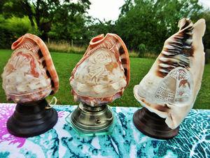 Скоро в моём магазине три редкие старинные лампы с камеями Арт деко Франция!. Ярмарка Мастеров - ручная работа, handmade.