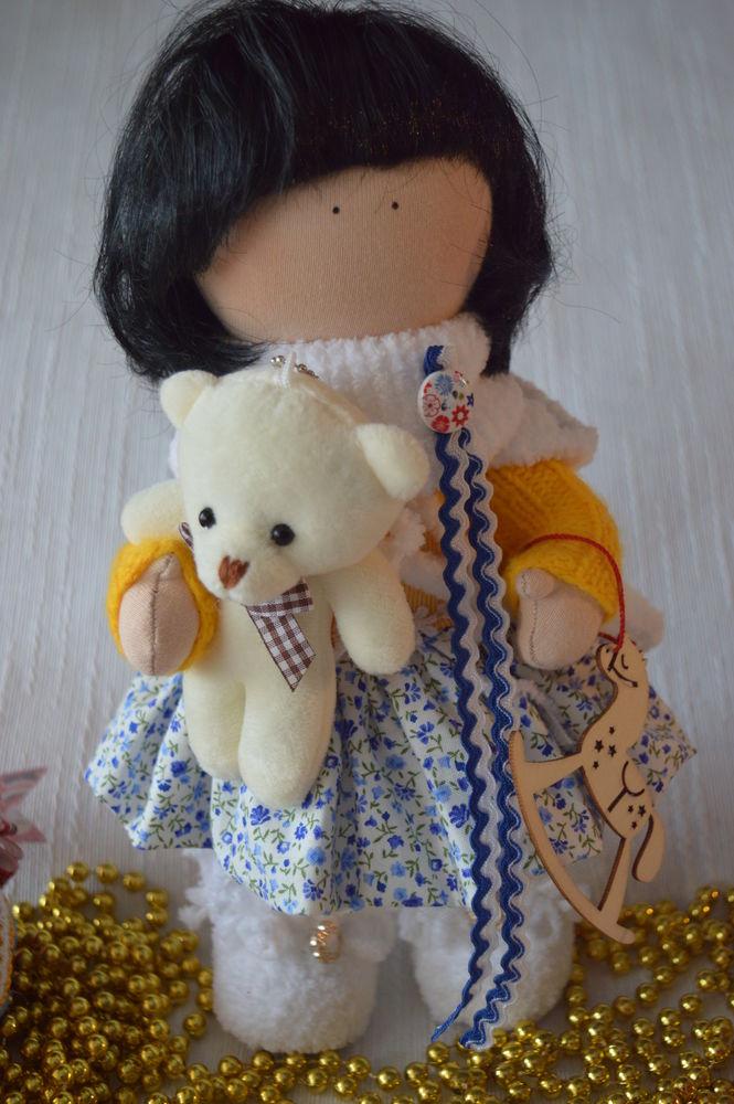 аукцион сегодня, подарки ручной работы, кукла интерьерная