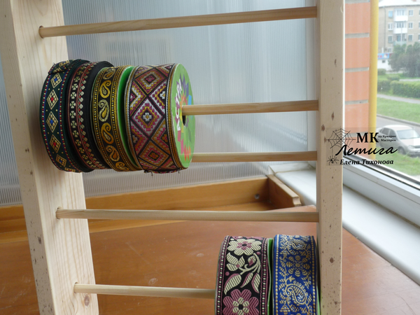 Мастерим простую полку для хранения кружев и тесьмы   Ярмарка Мастеров - ручная работа, handmade