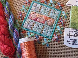 Великолепие вышивок от Orna Willis. Ярмарка Мастеров - ручная работа, handmade.