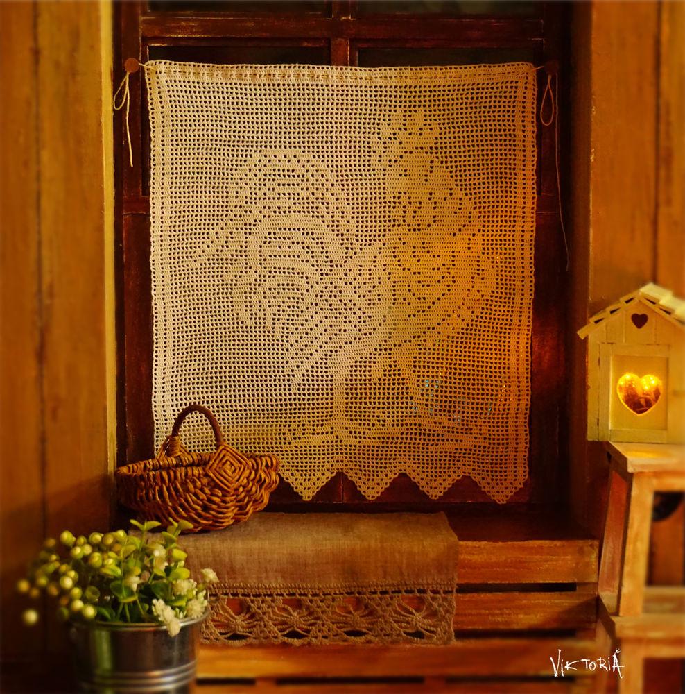 вязание, деревенский стиль