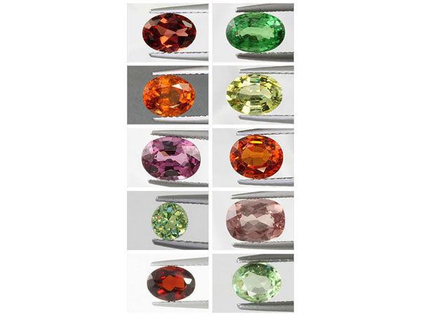 натуральные камни, топазолит