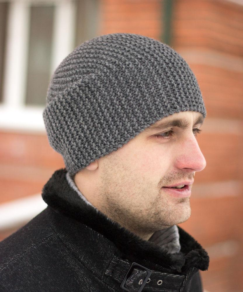 мужские носки, шапка вязаная